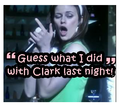 Tess Mercer Sings about being with Clark Kent - clark-and-tess photo
