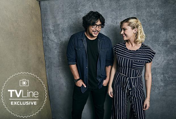 The 100 Cast at San Diego Comic Con 2018 - TVLine Portrait