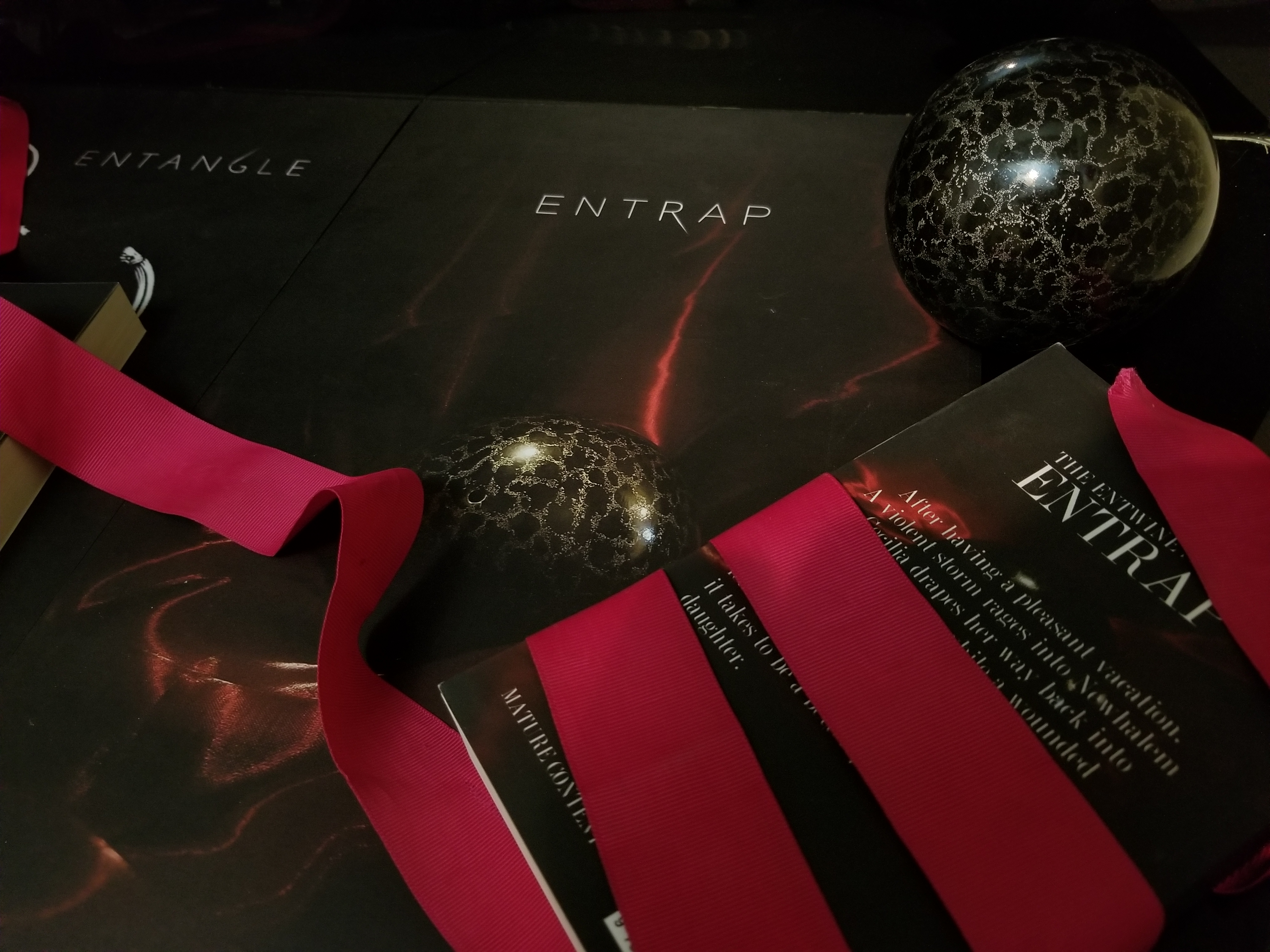 The Entwine Series: Entwine, Entangle, Entrap