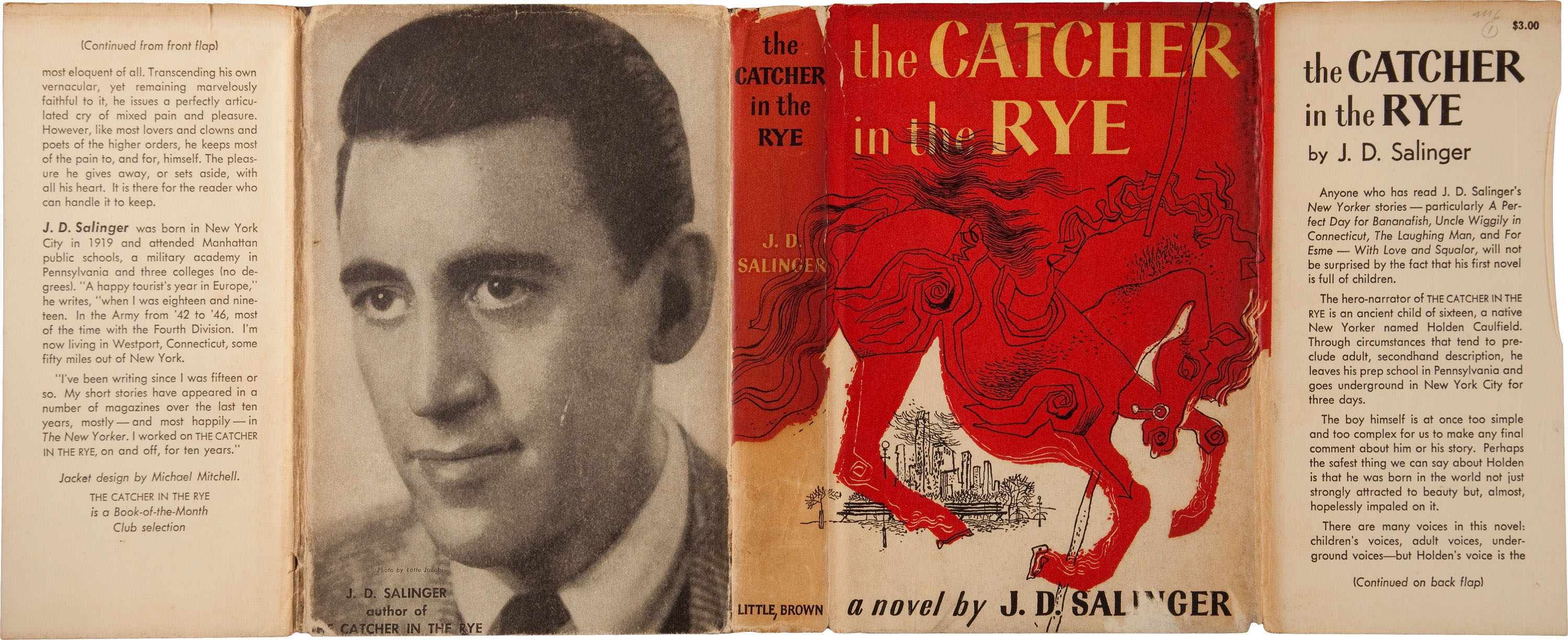characterization of holden in salingers the catcher in the rye Characterization of holden caulfield in j d salinger's catcher in the rye pages 2 words  catcher in the rye, j d salinger, character of holden caulfield.