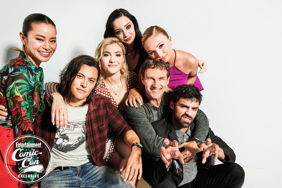 The Gifted Cast at San Diego Comic Con 2018 - EW Portrait