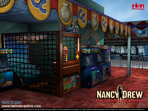 Nancy Drew games Обои entitled The Haunted Carousel