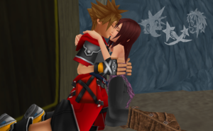 The Heart Warm and Romantic Feelings  Sora and Kairi  MMD Love