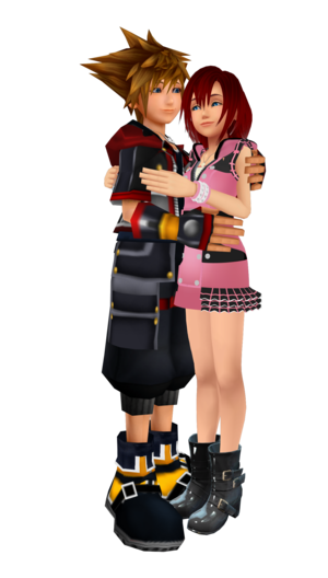 The Kingdom Hearts III Sora x Kairi.  Better .2019