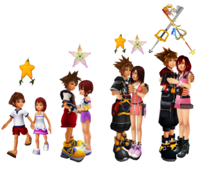 The Memories of Sora and Kairi Forever.2019