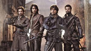 The Musketeers fondo de pantalla