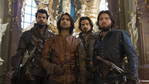 The Musketeers hình nền