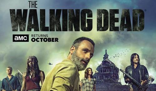 The Walking Dead karatasi la kupamba ukuta entitled The Walking Dead - Season 9 Poster
