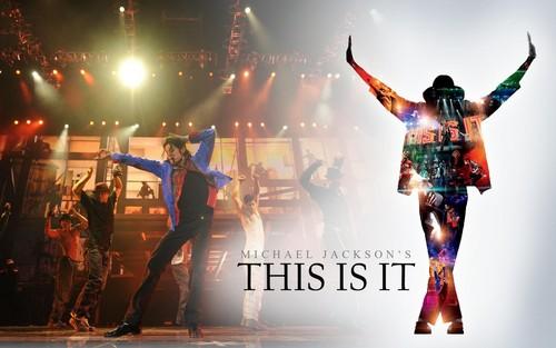 Michael Jackson Hintergrund entitled This Is It