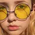 Through sun-colored glasses