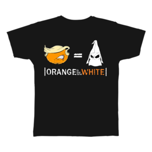 Tshirt orange BLACK