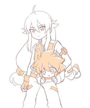 Tsubasa and Yuu