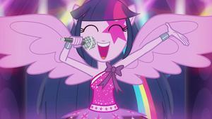 Twilight Sparkle Singen EG2