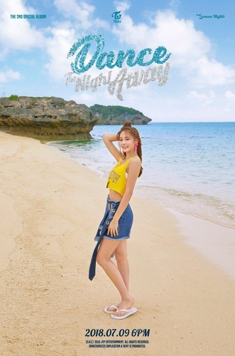 Twice (JYP Ent) پیپر وال called Tzuyu's teaser image for 'Dance the Night Away'