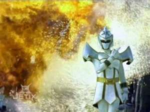 Udonna Morphed As The White Mystic Ranger