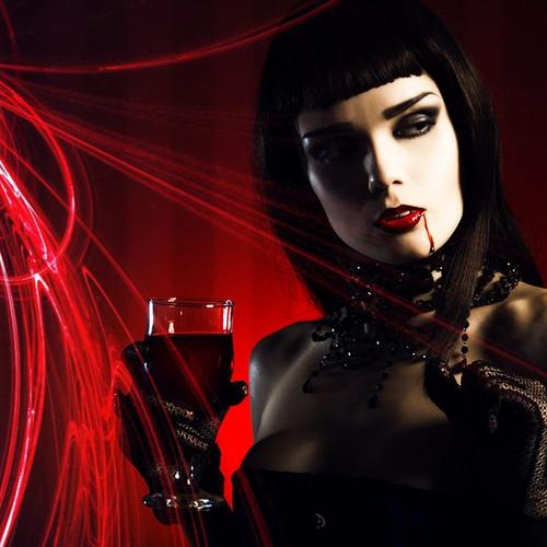 zanhar1 দেওয়ালপত্র entitled Vampire Chick