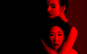 Killing Eve - Villanelle and Eve kertas dinding