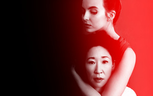 Killing Eve - Villanelle and Eve Wallpaper