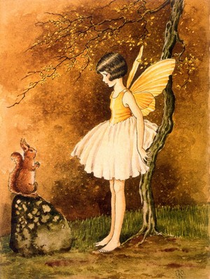 Vintage Forest Fairy
