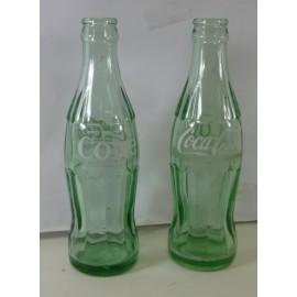 Vintage Green Coca Cola Bottles