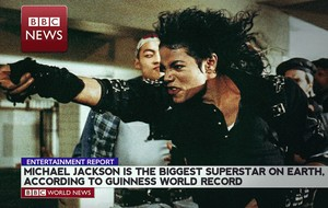 WORLD'S BIGGEST MUSIC SUPERSTAR