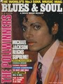 WORLD'S Biggest Superstar on the cover of Blues  - michael-jackson photo