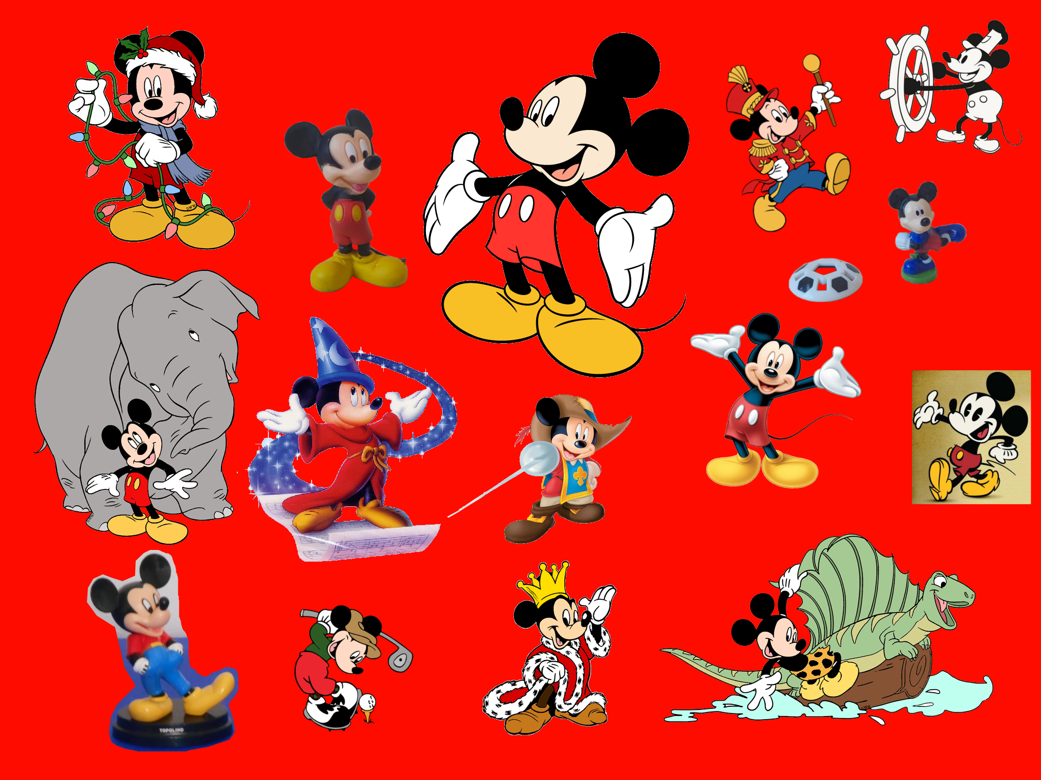 Mickey Mouse Images Wallpaper Topolino Hd Wallpaper And Background
