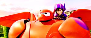 Walt Дисней Screencaps – Baymax & Hiro Hamada
