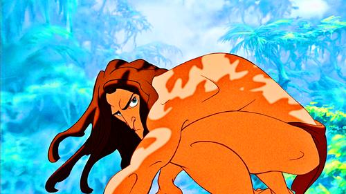 Walt Disney Characters wallpaper titled Walt Disney Screencaps – Tarzan