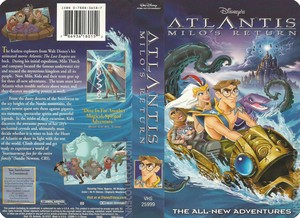 Walt Disney's Atlantis: Milo's Return (2003) VHS
