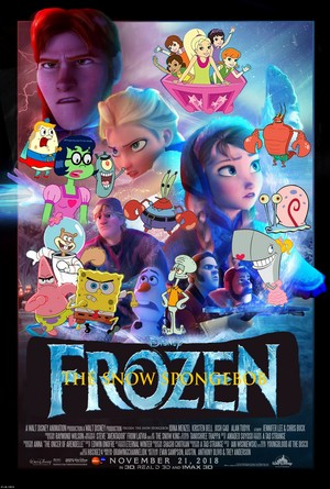 Walt Disney's Frozen: The Snow Spongebob (2018) Poster