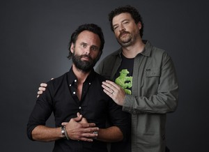 Walton Goggins and Danny McBride - TCA Portrait - Summer 2016