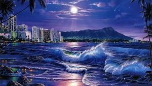 Warm Moonlit Night द्वारा The Ocean