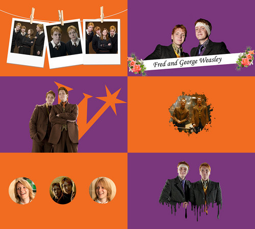 Harry Potter achtergrond entitled Weasley Twins