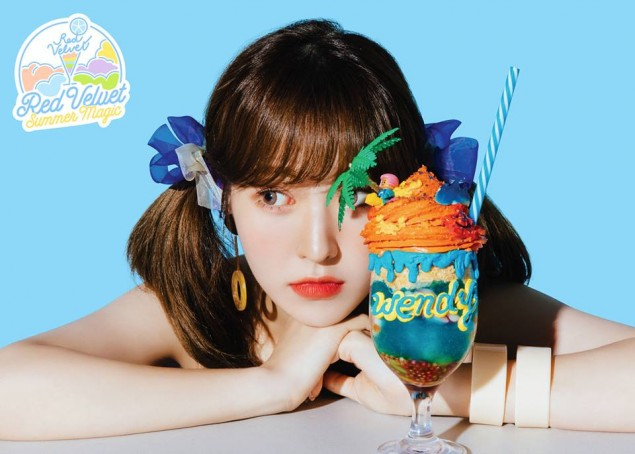Red Velvet Images Wendy S Teaser Image For Power Up Blue Ver
