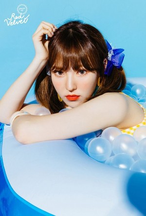 Wendy's teaser image for 'Power Up' (Blue Ver.)