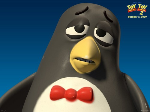 Toy Story 2 壁纸 entitled Wheezy