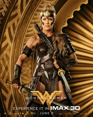 Wonder Woman (2017) Poster - General Antiope