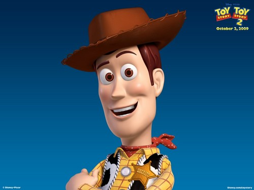 Toy Story 2 壁纸 called Woody