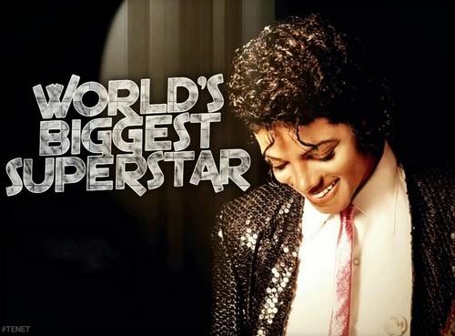 Michael Jackson fond d'écran entitled World's Biggest Superstar fond d'écran