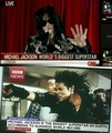World's Biggest Superstar declaration by CNN and BBC - michael-jackson photo