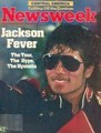 World's Biggest Superstar graces the cover of Newsweek Magazine  - michael-jackson photo