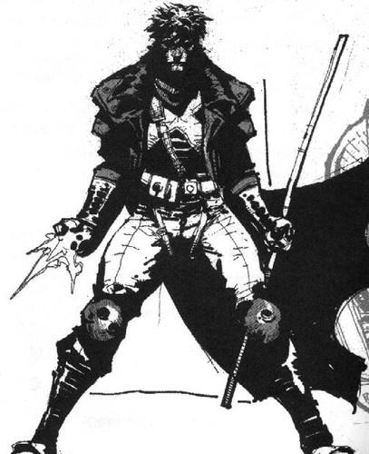 Gambit achtergrond entitled X-Men Revolutions Sketch