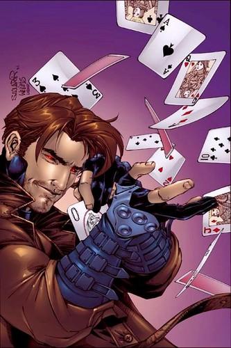 Gambit karatasi la kupamba ukuta called X-Treme X-Men - Gambit