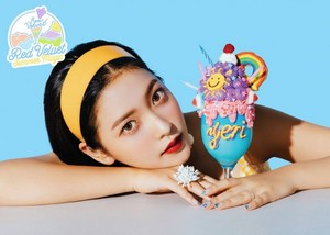 Yeri's teaser image for 'Power Up' (Blue Ver.)