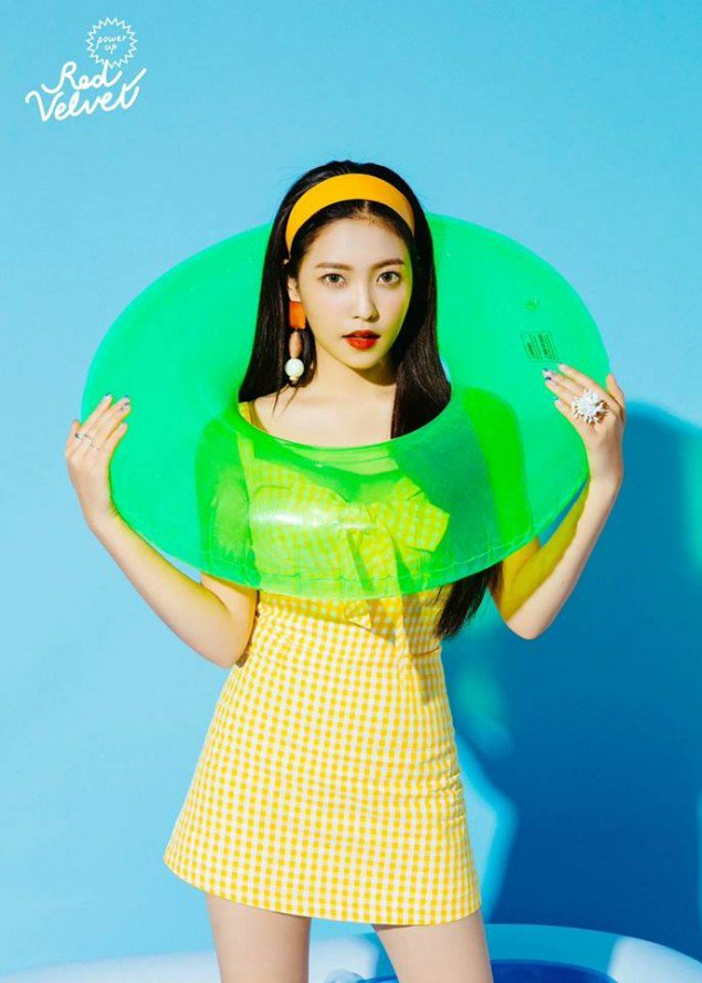 Red Velvet Bilder Yeri Teaser Image For Power Up Hd Hintergrund