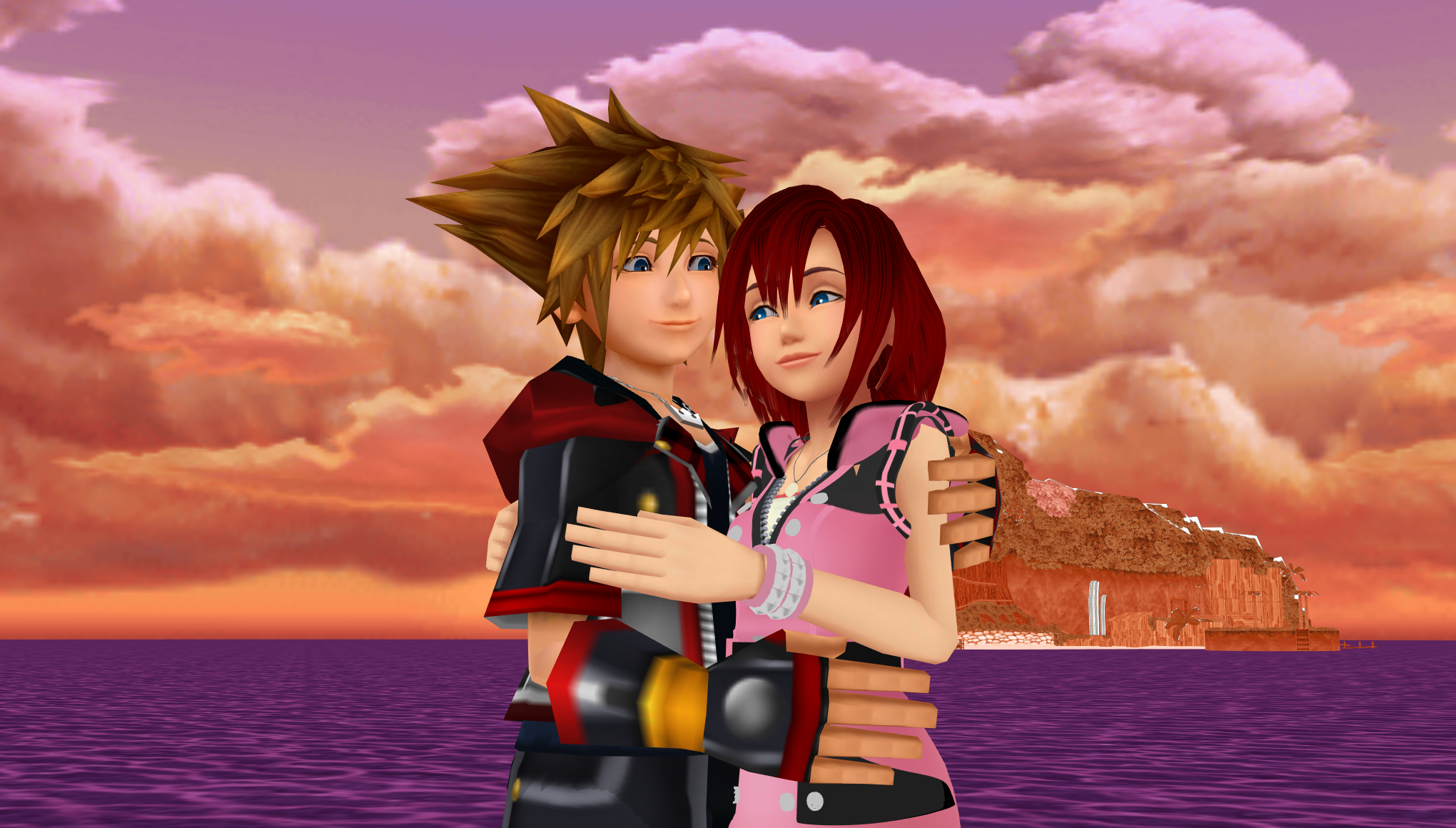 You and Me well Together SoKai Day  Sora x Kairi  2019