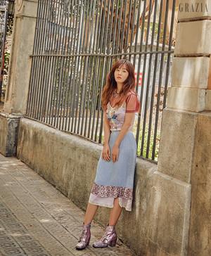 Yuri for Grazia July 2018