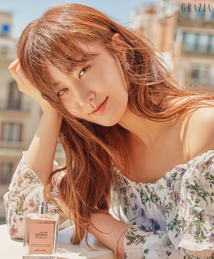 Yuri for Grazia July 2018