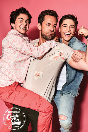 Zachary Levi ~ EW SDCC 2018 Portrait